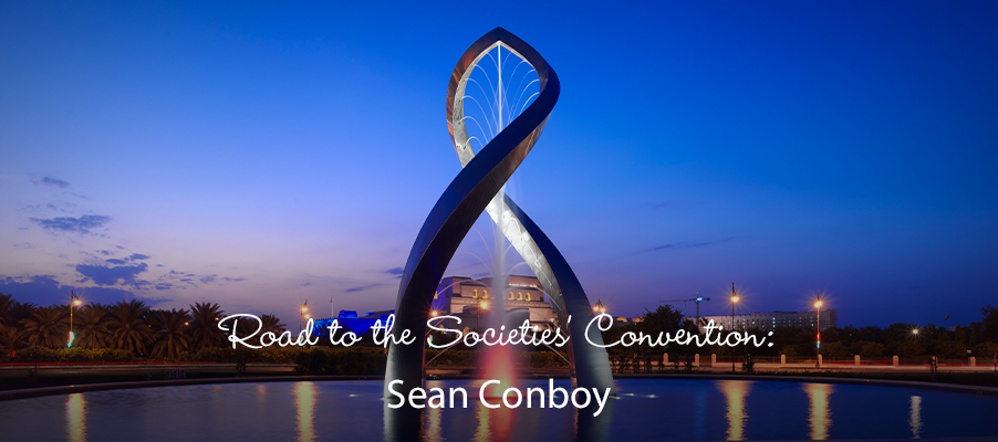 Road to the Societies' Convention: Sean Conboy